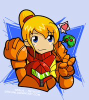 Samus N Friends by desfunk