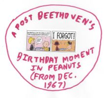Peanuts Post Beethoven's Birthday Moment by dth1971