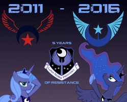 New Lunar Republic: 5 Years of Resistance by lonewolf3878