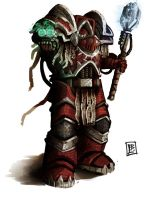 Word Bearers Vakrah Jal by Vanagandr