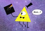 Bill Cipher - Famous Parent? (for Cat-Cipher) by KamaSenya