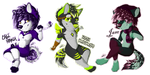 Sexy Furs (Con Badges) by Flame-Expression