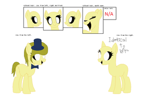 Goldie the Apparently A Pony by monkeylegs