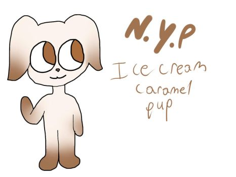 Name Your Price-Ice Cream Caramel pup (closed) by DerpingAround11