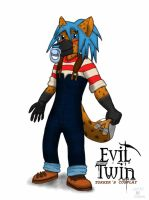 Evil Twin: Tokker's Cosplay by Wedgie-Fox