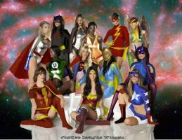 JLA Women by dan457