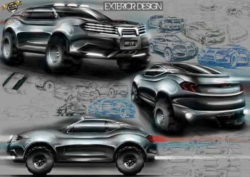 Gumball 3000 Exterior Design by mickeyd1o1