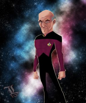Sci Fi Collection - Picard by King8BIT