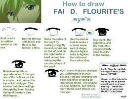 How to draw Fai's eyes by mythanime
