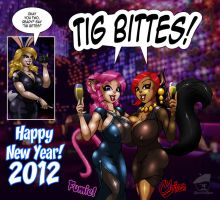The Girls New Year's Eve 2012 by GraphicBrat