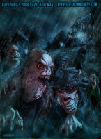 INNSMOUTH DENIZENS by Hartman by sideshowmonkey
