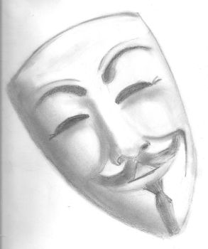 Guy Fawkes Mask by loopyun1