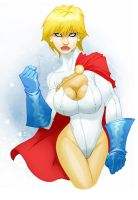 powergirl final by felle2thou