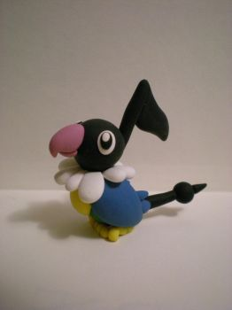 AT: Chatot by Foureyedalien