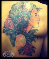 Gypsy by state-of-art-tattoo