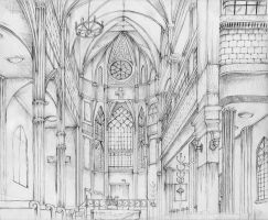 Cathedral by KuroReiOokami