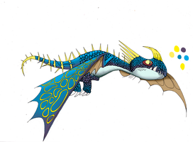 Stormfly Paint wip by EckwOOd