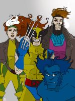 X-Men by BlitheFool