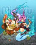 Commission: Pirate Mermaids by AyceWatah