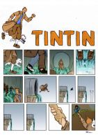 Tintin sequential by Sketchmazoid