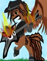 Reverb brony on guitar by daylover1313