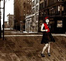 In The City by chelano