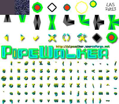 Pipewalker DIAMOND 3 theme (0.9.3 or newer) by LauraSeabrook