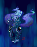 Princess Luna by RyuRedwings