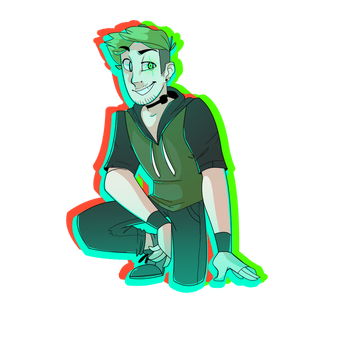 Anti-Septiceye by HankyDoesArtz