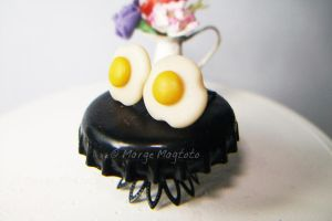 Sunny Side up Eggs Earrings by margemagtoto