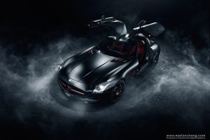 SLS AMG Blackbird by eastonchang