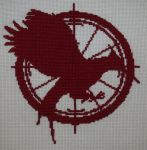 Hunger Games - Catching Fire cross stitch by Tifa666