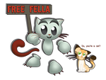 Free Fella! by Svennemi