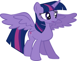 Alicorn Twilight Vector by chrisgotjar