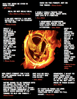 Hunger Games Quotes by GracelessDesires