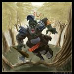 Orc Down by thepenciler