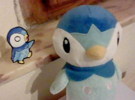 Piplup Paperchild by IperGiratina98