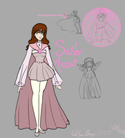 Tournament Cosmos - Sailor Anzai reference sheet by Euri-EuropaNoSenshi
