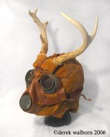 Deer Mask by DerekWalborn