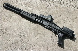 Remington M870 custom by Drake-UK