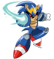 ArchieSonic: Sonic Man by BlueIke