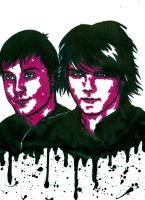 MCR - Gerard and Frankie 5 by weedenstein