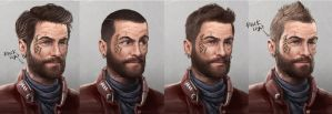 Character Concept ''Facial'' by Pyroow
