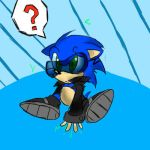 little evil sonic by nickyb123