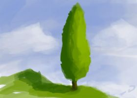 speed paint: tree by dylanrw