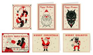 Christmas / Krampus Cards by mscorley