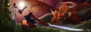 Fight Against Candela's Pet by LibroBook