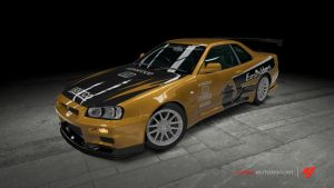 Nissan skyline GT-R - Need For Speed: Underground by OutcastOne