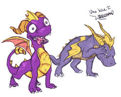 Spyro - what have you become. by Arborish