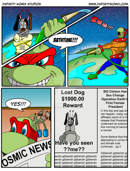 Marty the Martian Page 3 by superman200er0